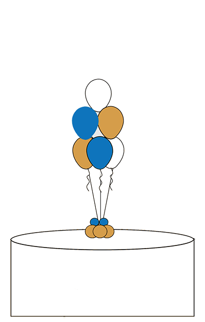 Balloon Centerpieces from A Floating Affair, New York