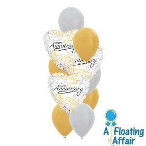 anniversary wedding balloons